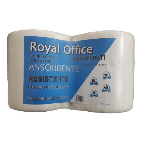 BOBINE 800 ROYAL OFFICE 2PZ PURA CELLULOSA